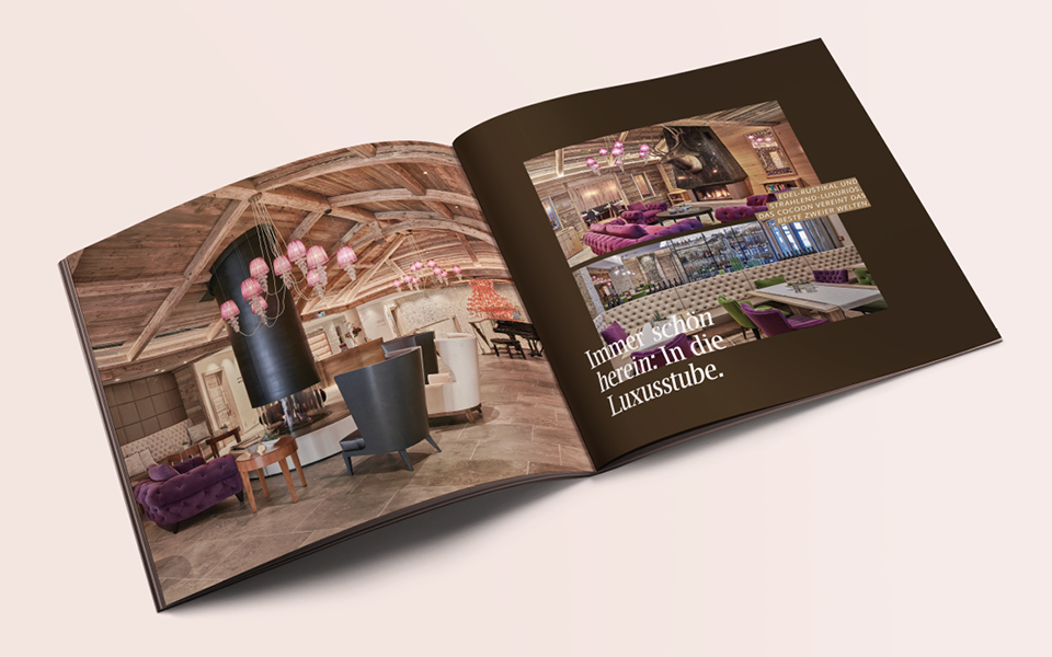 Cocoon – Alpine Boutique Lodge Imageprospekt