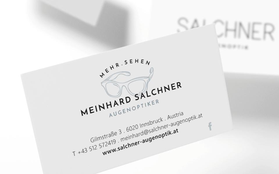 Visitenkarten Salchner Augenoptik