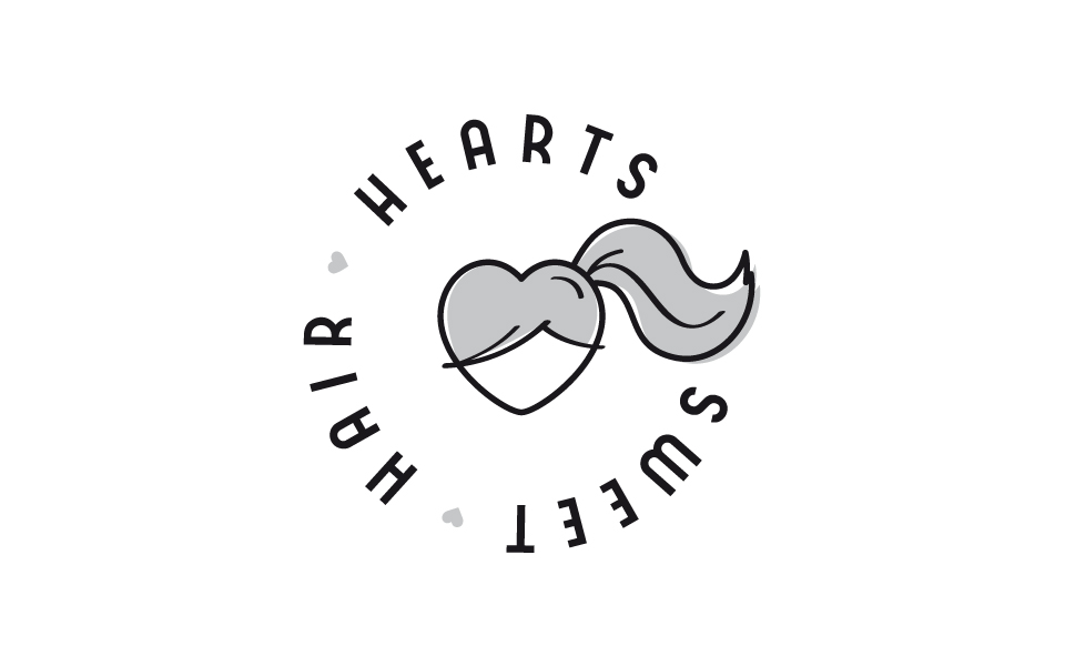 Logo Sweet Hair Hearts