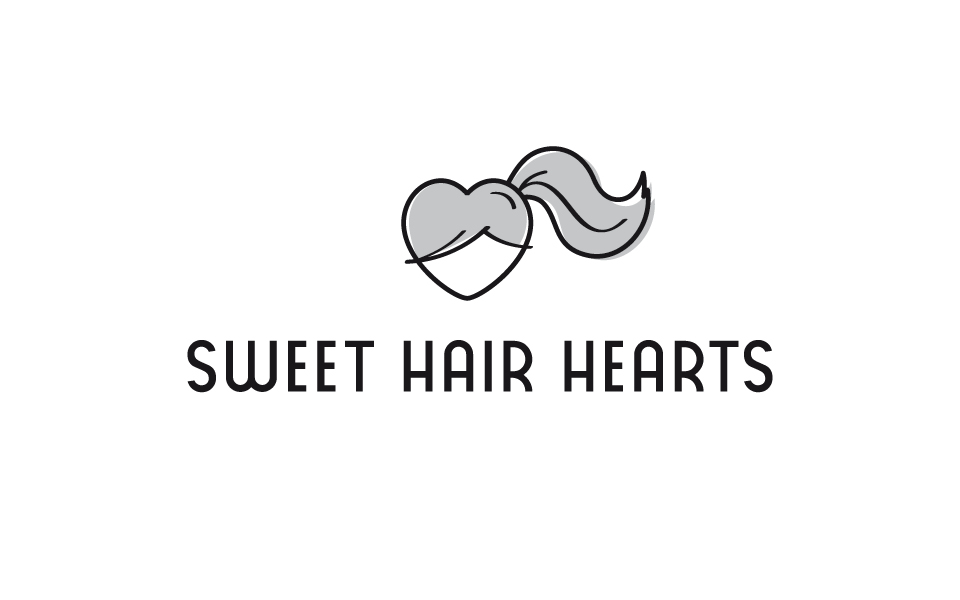 Sweet Hair Hearts Logo